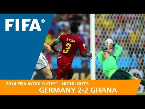 GERMANY v GHANA (2:2) - 2014 FIFA World Cup™ (видео)