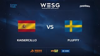 Kaisercillo vs Fluffy, game 1