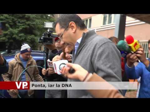 Ponta, iar la DNA