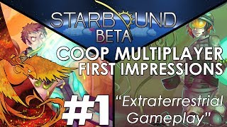 Welcome to the world of Starbound , this is my coop multiplayer first impressions of the beta and I am joined by Pyro and BigD for an epic expedition of ...