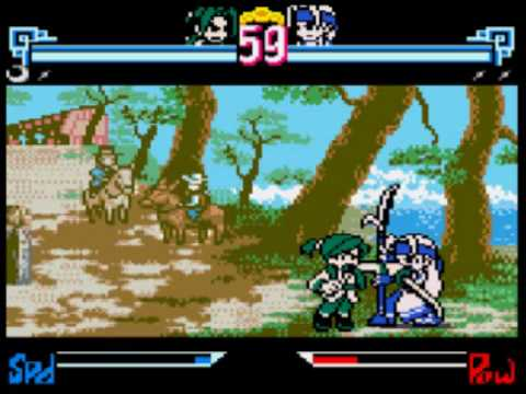 the last blade 2 neo geo cd