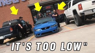 Video They tried towing my BAGGED Mach 1 - Mustang broke at Gas Station MP3, 3GP, MP4, WEBM, AVI, FLV April 2019