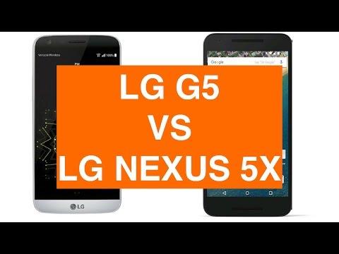 LG G5 vs LG Nexus 5X ITA