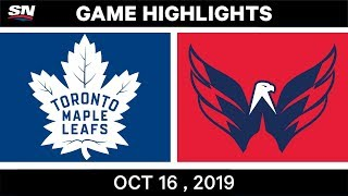 NHL Highlights | Maple Leafs vs Capitals – Oct 16 2019 by Sportsnet Canada