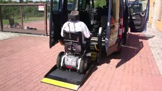 Elektrohydraulická plošina - SKY 002 + el. dveře ve voze OPEL Movano
