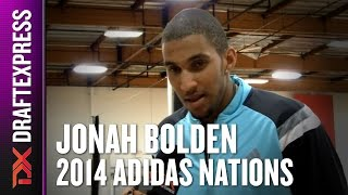 2014 Jonah Bolden Interview - DraftExpress - AdidasNations