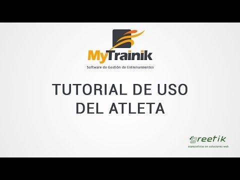 MyTrainik. Turorial del Atleta