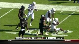 Damontre Moore vs Mississippi State (2012)