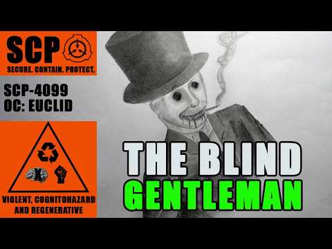 Site-42 Collab SCP-4099 illustrated (The Blind Gentleman) (видео)