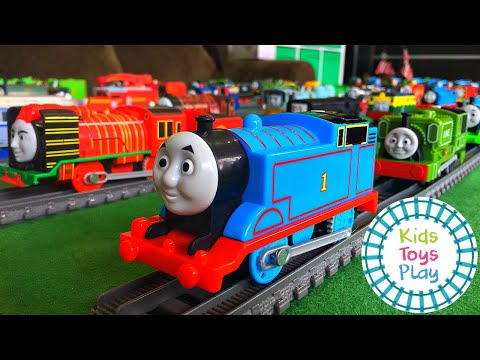 Thomas the Tank Engine Trackmaster and Tomy Collection