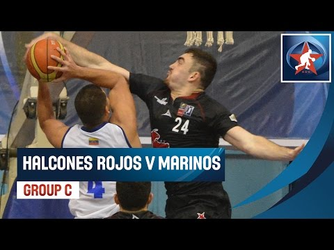 Halcones Rojos (MEX) V Marinos (VEN) - Game Highlight - Group C - 2015 Liga De Las Americas