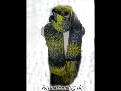 Häkeln – Schal mit Fransen Häkelschal