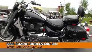 1. Used 2006 Suzuki Boulevard C90T with Cobra Exhaust Motorcycle for sale Florida Alabama