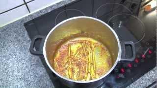 Kokos-Curry-Suppe mit Garnelenspieß   Rezeptempfehlung Topfgucker-TV