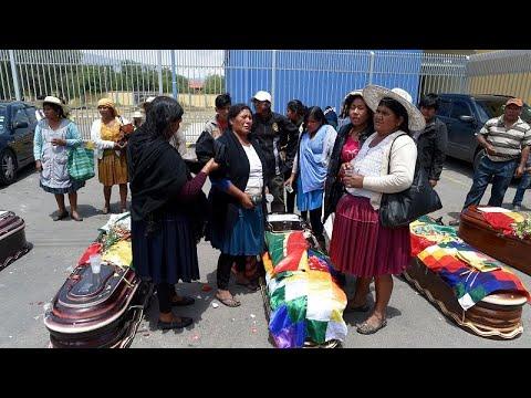 Bolivien: Neue Tote bei Protesten - das Land droht im Chaos zu versinken