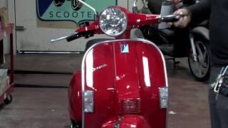 3. 2015 Vespa PX150 Two Stroke Scooter