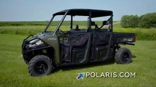 2. New 2016 Polaris® RANGER Crew® 570-4 Sage Green Available For Sale in Benton, KY