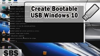 """Bootable USB for windows 10 - As mentioned in the video, you need to download windows 10 ISO file and Winrar in order to extract windows 10 iso file. Below are the links. Windows 10 ISO file download Path : https://www.microsoft.com/en-us/software-download/windows10ISOTutorial to extract ISO files :https://www.youtube.com/watch?v=E9C89jxzUjYTo make a bootable USB for windows 7 :https://www.youtube.com/watch?v=mT24TtxplQgIf you have any query, then please comment. Subscribe to the channel. and share this video.Link of this video : https://youtu.be/blk-QuzP3HgYou can also check our bootable related tutorial :How to make Bootable USB pendrive for Windows[7/8/8.1] -https://youtu.be/mT24TtxplQgRufus - How to Create Windows 10 Bootable USB Flash Drive  - https://www.youtube.com/watch?v=ftS0sWhVoHY-~-~~-~~~-~~-~-Please watch: """"Rufus - How to Create Windows 10 Bootable USB Flash Drive"""" https://www.youtube.com/watch?v=ftS0sWhVoHY-~-~~-~~~-~~-~-"""