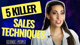 5 Killer Science Based Sales Techniques