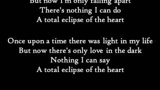Paroles de la musique Total eclipse of the heart de Bonnie Tyler.