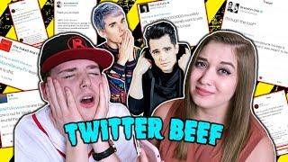 Video ARTV REACTS TO HIS TWITTER BEEF (BRENDON URIE, HALSEY, AWSTEN KNIGHT & MORE) MP3, 3GP, MP4, WEBM, AVI, FLV Agustus 2018