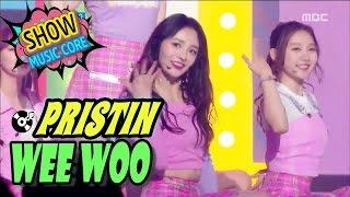 Video [HOT] PRISTIN - WEE WOO, 프리스틴 - 위우 Show Music core 20170325 MP3, 3GP, MP4, WEBM, AVI, FLV Desember 2017