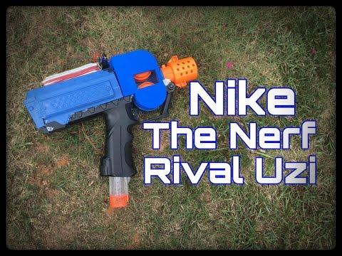 ... Nerf Mod Nike The Rival Uzi