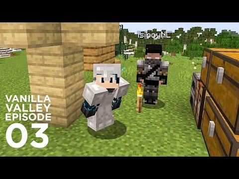 Adventure and Trading day| Minecraft Survival Vanilla Valley Season 2 Episode 3 | GD Venus