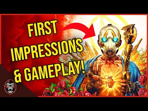 IS BORDERLANDS 3 ANY GOOD? | Borderlands 3 First Impressions & Gameplay