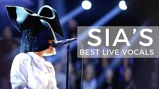 Video Sia's Best Live Vocals MP3, 3GP, MP4, WEBM, AVI, FLV Juni 2018