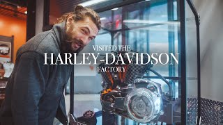 Video I visited the Harley-Davidson factory last week! MP3, 3GP, MP4, WEBM, AVI, FLV Januari 2019