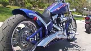 1. Used 2009 Harley Davidson Softail Rocker C Motorcycles for sale - Destin, FL