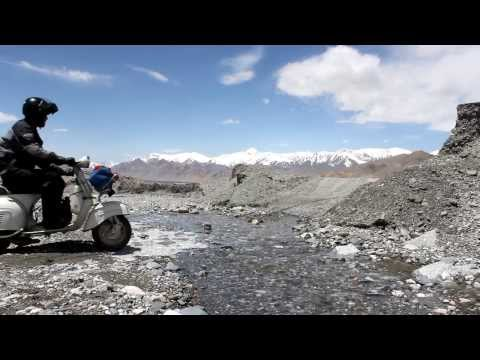 pamir - Three Brave Men, a Vespa GS160 and a Lada Niva travelling along the old Silk Road on their way to Mongolia. Here is a movie we shot in Tajikistan. The road i...