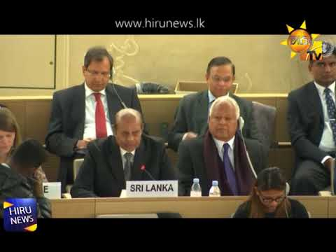 High Commissioner requests to establish a Human Rights Council Office in Sri Lanka.   Foreign Minister says cannot agree with some points in the report.