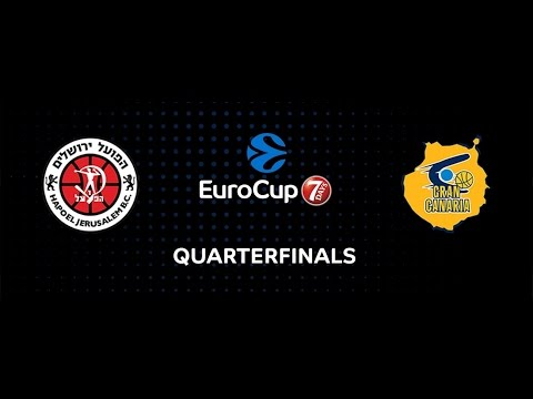 7DAYS EuroCup Preview: Hapoel Bank Yahav Jerusalem vs. Herbalife Gran Canaria Las Palmas