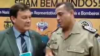 Comandante-geral da Polícia Militar de Alagoas fala dos benefícios do QOA ao presidente da ABERSSESC