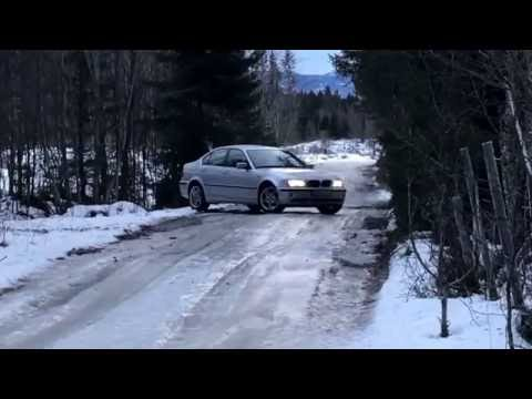 BMW E46 330Xi Glatteis