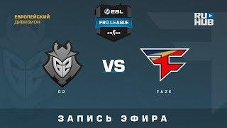 G2 vs FaZe - ESL Pro League S7 EU  - de_cache [yXo, Enkanis]