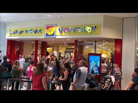 See how many people showed up for Build-A-Bear Workshop's 'Pay Your Age Day'