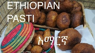 This recipe for Ethiopian Pasti is spoken in Amharic, please see below for English text. Ethiopia does not have a great deal of sweet dishes but the Pasti is...