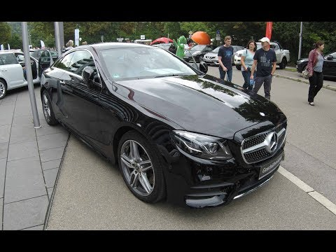 MERCEDES BENZ E 400 COUPE 4MATIC C238 ! NEW MODEL 2017 ! AMG WHEELS ! WALKAROUND + INTERIOR !
