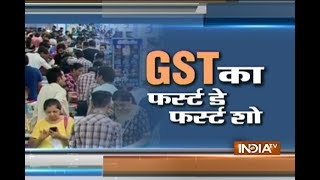 Download Video People out to shop as GST rolls out in the country MP3 3GP MP4