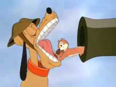 Pluto vs Chip   Dale   Private Pluto cartoon