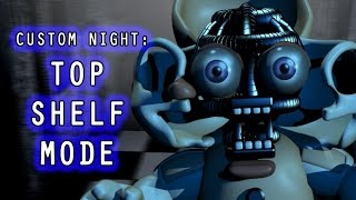 Bidybab feels lonely because Electrobab no longer plays with her so she decides to pass the time by playing Sister Location Custom Night for Circus Baby. Tha...