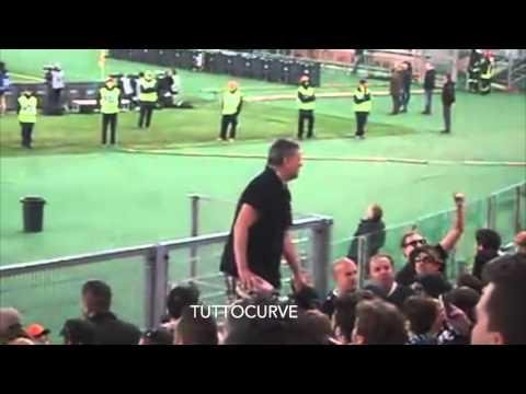 Ultras Spezia in trasferta a Roma