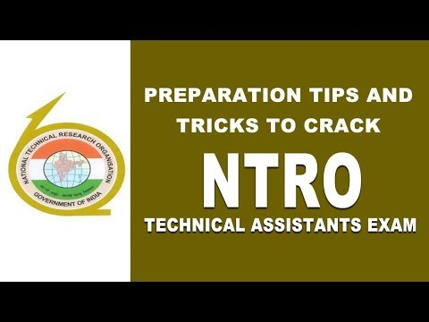 Preparation Tips And Tricks To Crack Ntro Technical Assistants Exam