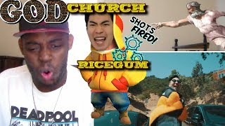 MY REACTION TO RiceGum - God Church ( Official Music Video )ORIGINAL VIDEO:https://www.youtube.com/watch?v=dKnoOdDLy4oCHECK OUT MY PATREON DONATE IF YOU CAN: https://www.patreon.com/user?u=5011574