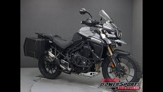 8. 2013  TRIUMPH  TIGER EXPLORER W/ABS  - National Powersports Distributors