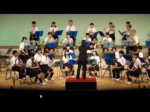 箕面市立第4中学校吹奏楽部【2016年箕面市夏の吹奏楽祭】