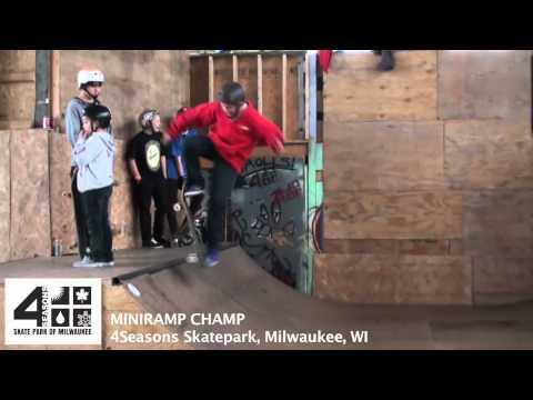 4Seasons Skatepark Miniramp Champ Dec. 2011 (видео)
